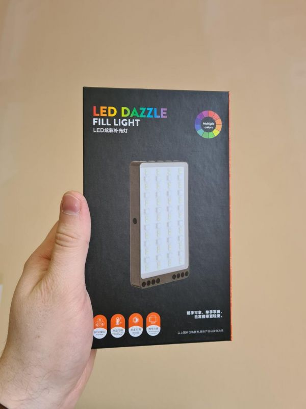 Мобильный видеосвет Led Dazzle 80 RGB SmartLED