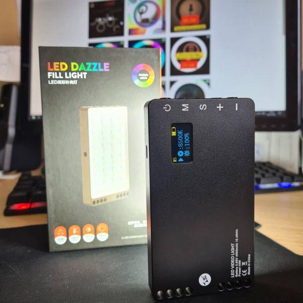 Портативный видеосвет SmartLED LedDazzle 80 RGB